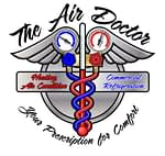 the air doctor commercial refrigeration heating and air condition logo